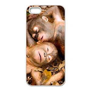 Monkey ZLB821537 Personalized Phone Case for Iphone 5,5S, Iphone 5,5S Case