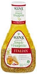 Ken\'s Simply Vinaigrette Italian Dressing (package of 2 - 16 oz bottles)