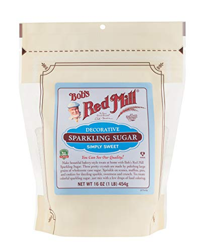 - Bob's Red Mill Decorative Sparkling Sugar, 16 Oz