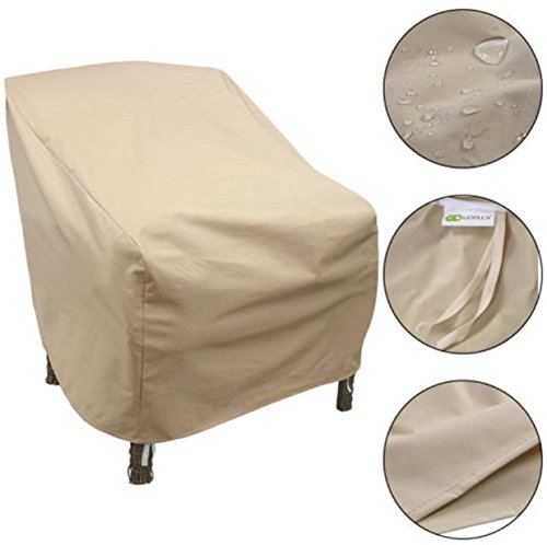 Chair cover dining room seat outdoor pation single chair for Furniture covers for outdoor seating