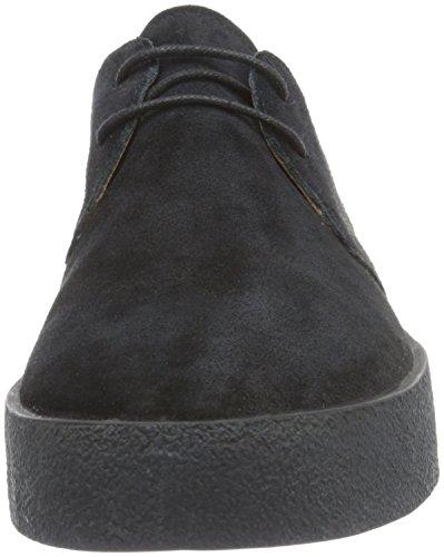 Vagabond Luis, Zapatos de Cordones Derby para Hombre Negro - Schwarz (20 Black)