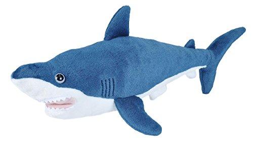 Wild Republic Mako Shark Plush, Stuffed Animal Toy, Gifts for Kids, Cuddlekins, 21 Inches