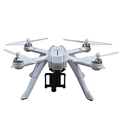Blomiky MJX Bugs 3 Pro B3 Pro GPS Brushless RC Quadcopter Drone Support 4K and 1080P Action Camera B3Pro White by MJX