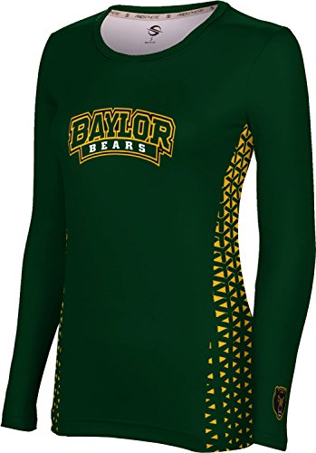 ProSphere Baylor University Women's Long Sleeve Tee - Geo (Small)