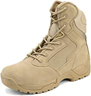 NORTIV 8 Men's Military Tactical Work Boots Hiking Motorcycle Combat Bo