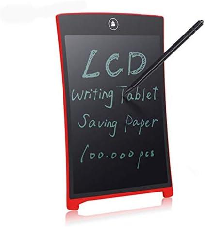 LKJASDHL 8.5インチLCD手書きボードLcdライトエネルギー電子小さな黒板子供の落書き手描きボードメッセージボード学生描画ボード描画光おもちゃ (色 : レッド)