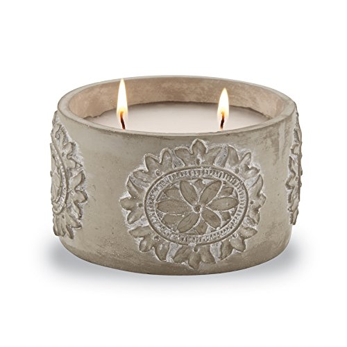 Mud Pie Concrete Citronella Candle