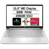 """2021 Newest HP 15 15.6"""" HD Display Laptop Computer, AMD Athlon Gold 3150U (up to 3.3GHz, Beat i3-8130U), 8GB DDR4 RAM, 256GB"""