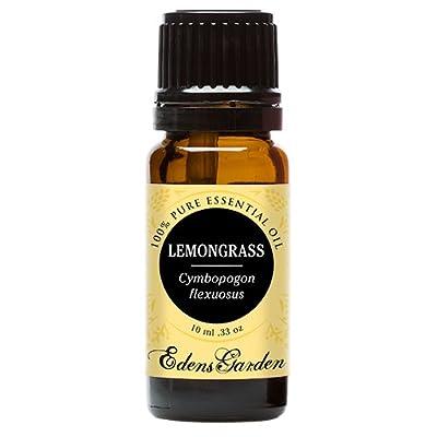 Lemongrass 100% Pure Therapeutic Grade Essential Oil by Edens Garden