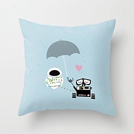 Amazon.com: Decorativos Funda De Almohada True Love Walle y ...