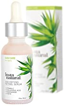 Fight back against the signs of aging with InstaNatural's Age-Defying Retinol Serum. Over time, both men and women will start to develop an aged appearance from the following signs: deep wrinkles, fine lines, dark circles, sun damage and hype...