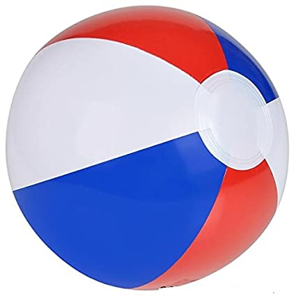 Amazoncom Neliblu Patriotic Inflatable Beach Balls Colorful Party