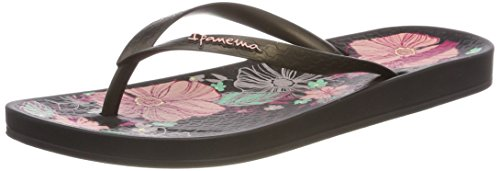 Ipanema Women's Anatomic Temas VII Fem Flip Flops, Green Multicolour (Black 8635)