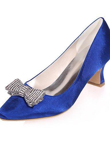 ShangYi Chaussures de mariage - Noir / Bleu / Violet / Rouge / Ivoire / Blanc / Argent / Champagne - Mariage / Soirée & Evénement - Bout Carré - , 2in-2 3/4in-blue