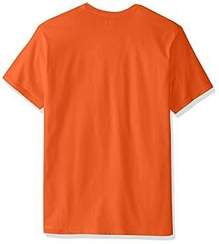 Russell Athletic Men's Basic T-shirt, Burnt Orange, Large 2