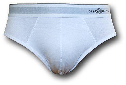 - Joseph Abboud Men's 18 Pack Contour Pouch Cotton Hip Briefs (X-Large, 18 Pack-White)