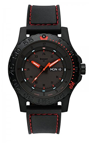 Traser H3 Mens Watch Professional Red Combat 105503