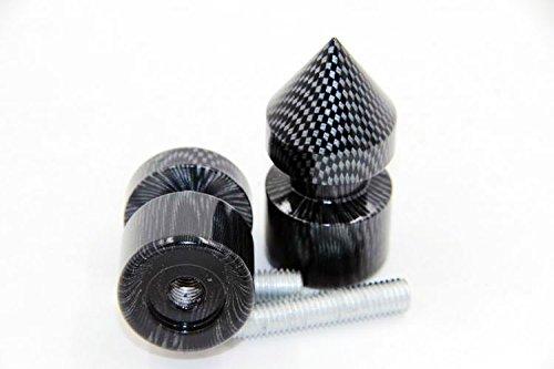 XKH- Carbon Spike Swingarm Spools No logo 8mm Thread For Honda CBR 250R 2011/ CBR 600RR 2003-2011/CBR 900RR 2002-2003/ CBR 954RR 2002-2003