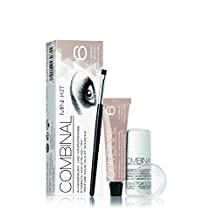Combinal Dye Kit for Eyelashes, Eyebrows, Moustache and Stubble Light Brown by Combinal