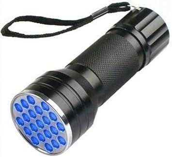 ALUMINUM MULTIFUNCTION UV ULTRA VIOLET 9 LED FLASHLIGHT TORCH LIGHT LAMP  Wide