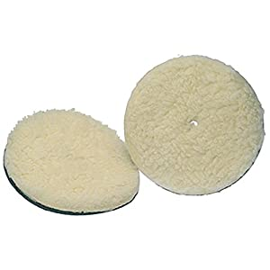 Koblenz Genuine Lambswool Buffing Pads Pack of Two Pads and Two Retainers
