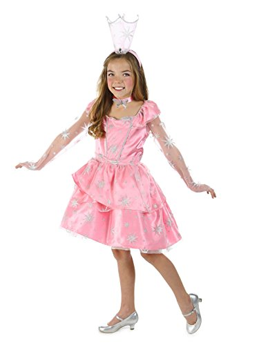 Princess Paradise The Wizard of Oz Glinda The Good Witch Sassy Costume, Pink, Tween -