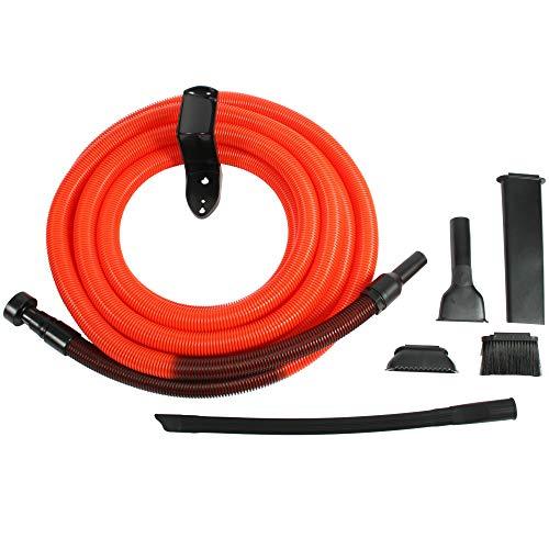 Cen-Tec Systems 93554 Shop Vacuum Garage Kit, 30', Orange/Black