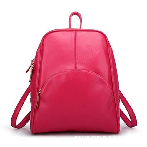 véritable à bandoulière cuir en VHVCX dos Red Sacs sac Sac Sacs étudiants à Avslappnad dos Mode Voyage école féminine filles Sacs femmes à xIqI6U