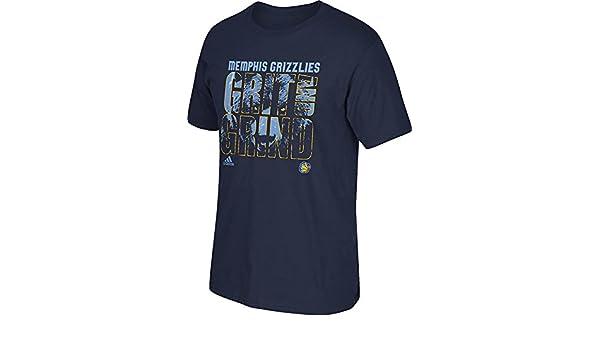 Adidas Camiseta para Hombre de la NBA Memphis Grind, Hombre, 3720A con 7MGRBCP, Azul Marino, Small: Amazon.es: Deportes y aire libre