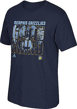 Adidas Camiseta para Hombre de la NBA Memphis Grind, Hombre, 3720A con 7MGRBCP,