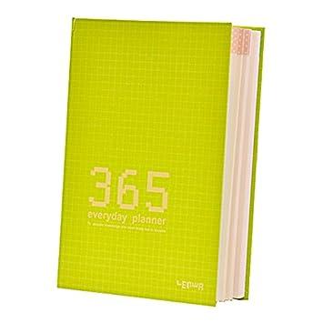 365 Calendario Agenda Funda Calendario diario cuaderno, 128 ...
