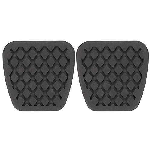 Brake Clutch Pedal Pad Rubber Cover for Honda Civic Accord CR V Acura 46545 S Black
