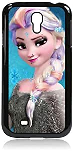 Elsa Punk-Hard Black Plastic Snap - On Case with Soft Black Rubber Lining-Galaxy s4 i9500 - Great Quality!