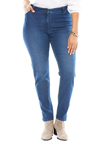 Petite Woven Jeans - 4