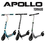 Apollo-Monopattino-High-End-Scooter-Tornado-City-Scooter-Freno-e-Sospensione-City-Roller-Pieghevole-richiudibile-con-Altezza-Regolabile-Monopattino-Kickscooter-per-Adulti-e-Bambini