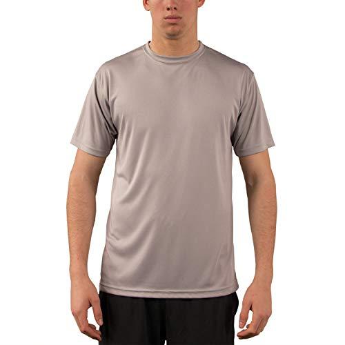 - Vapor Apparel Men's UPF 50+ UV Sun Protection Performance Short Sleeve T-Shirt X-Small Athletic Grey