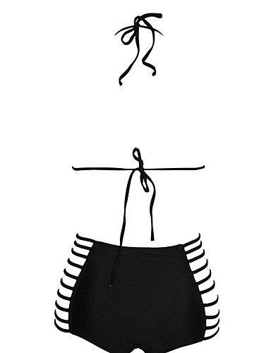 Kabellos - Halfter - Damen - Bikinis ( Nylon/Elasthan ) , black-m , black-m