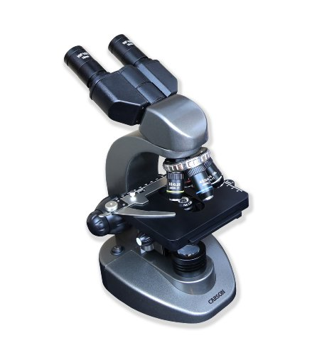 Carson Advanced 40x-1600x Biological Microscope with Mechanical Stage and Binocular Head (MS-160)