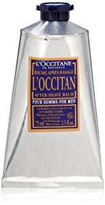 L'Occitane Moisturizing L'Occitan After Shave Balm for Men with Shea Butter, 2.5 fl. oz.