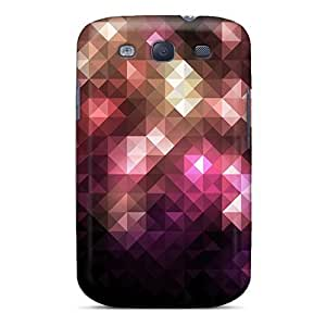 Cute High Quality For Case Samsung Galaxy Note 2 N7100 Cover Mixed Mosaic Case