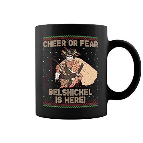 Cheer Or Fear Belsnickel Is Here Ceramic Coffee Mug Tea Cup (11oz, ()