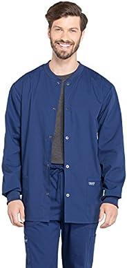 CHEROKEE Workwear WW Professionals Mens Men's Snap Front Jacket W