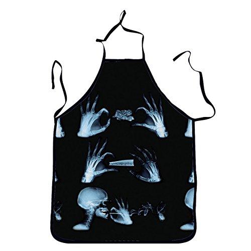 [Niyatree Terrorist Skull Bones Aprons For Pretend Play,Cosplay ,Costume Party Apron] (Terrorist Costumes)