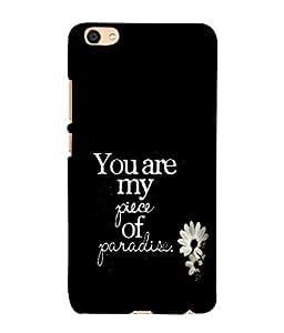 PrintVisa Designer Back Case Cover for Vivo Y55L :: Vivo Y55 (Paradise Piece)