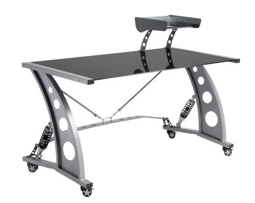 Pitstop Furniture PDF2000B Black GT Spoiler Desk