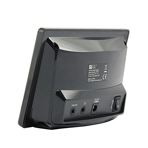 Ocean Digital WiFi Internet Radio Adapter Tuner Receiver IRT01C Wireless Connection Desktop Media Player Alarm Clock- Black by Ocean Digital (Image #6)
