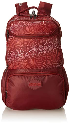 American Tourister Turf 32 Ltrs Red Casual Backpack (FF0 (0) 00 001)