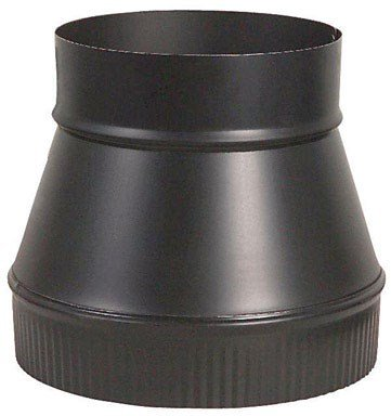Imperial Manufacturing Group BM0062 6'' X 8'' Black Matte Increaser