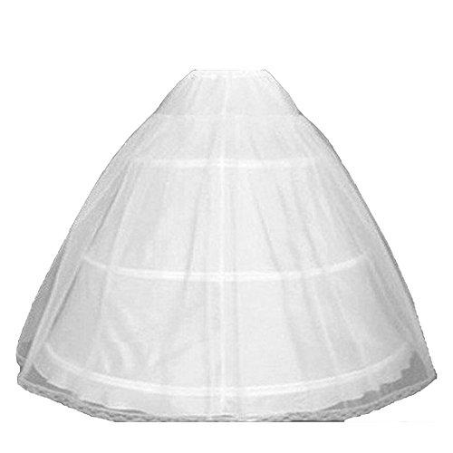 Kalos Dress Shop 3 Hoops Petticoat Quinceanera Dresses Ball Gown Crinoline Underskirt