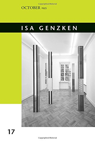 Isa Genzken (October Files) pdf epub